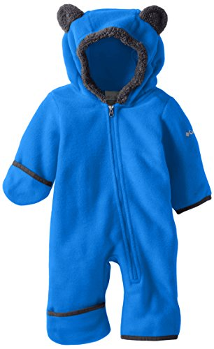 Columbia Baby Tiny Bear II Bunting, Super Blue, 0-3 Months