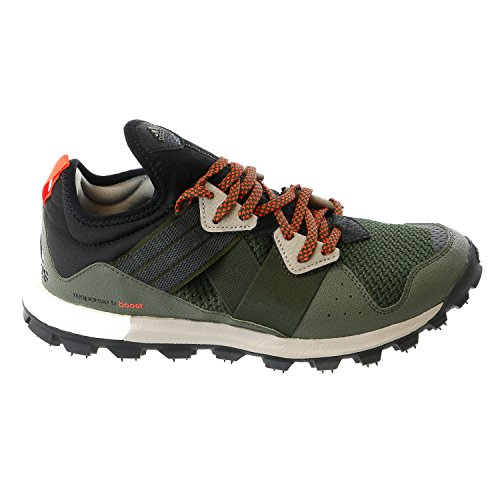 Adidas Outdoor Response Trail Boost Running Sneaker Shoe - Black/Brown - Mens - 10