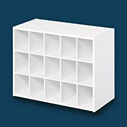 15Cube WHT Organizer by Closetmaid