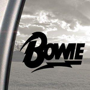 David Bowie Black Decal British Rock Truck Window Sticker