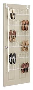Whitmor 6023-1306 Over The Door Shoe Rack
