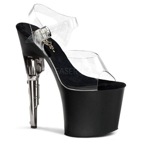 Sale alerts for PLEASER BONDGIRL-708 Sexy Pole Dancing Style Bondgirl Heel with Platforms (Exotic Dancing) Clr/Blk Matte 7 UK - Covvet