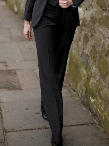 Brook Taverner Loreto Suit Trouser in Black 18R