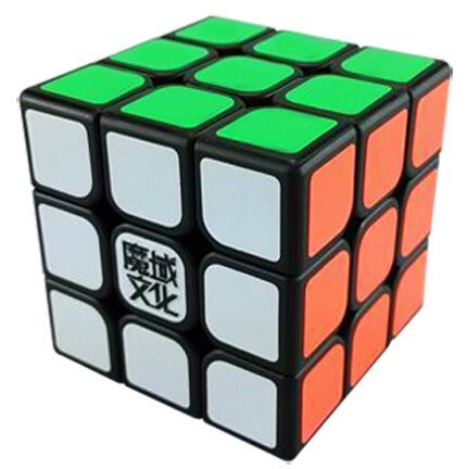 MoYu AoLong V2 3x3x3 Speed Cube Enhanced Edition Black Puzzle - 1