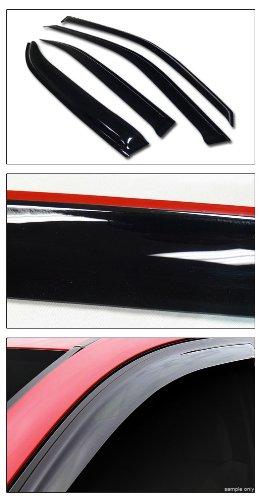 Sun/Rain Guard Smoke Vent Shade Deflector Window Visors V2 Honda Civic 4Dr