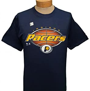 NEW!! Indiana Pacers Short Sleeve T-Shirt - Navy Blue - Youth (18-20)