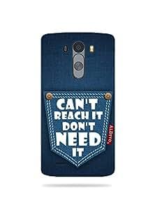 alDivo Premium Quality Printed Mobile Back Cover For LG G3 / LG G3 Back Case Cover (MKD289)