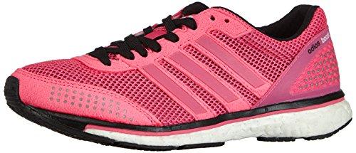 adidas Adizero Adios Boost 2.0, Unisex-Erwachsene Laufschuhe, Pink (Neon Pink/Running White/Running White), 36 2/3 EU (4 )
