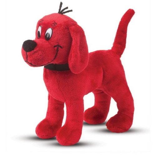 "Standing Clifford Sm 7"" by Douglas Cuddle Toys - 1"