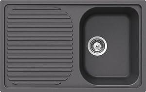 Schock Spüle LITHOS D100 S in Titanium  BaumarktKundenberichte und weitere Informationen