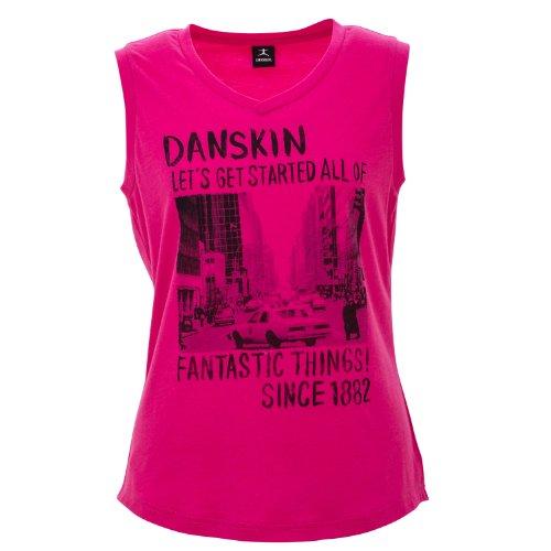 (ダンスキン)DANSKIN タンクトップ DB74131X CS チェルシーローズ L
