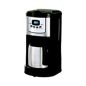 Bella 10-Cup Programmble Coffeemaker Thermal Carafe, Black
