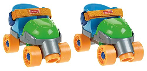 Fisher-Price Grow-with-Me 1,2,3 Roller Skates (Quad Roller Skating compare prices)