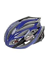 WD FJQXZ Integrally-molded EPS+PC Blue Cycling Helmets (21 Vents)