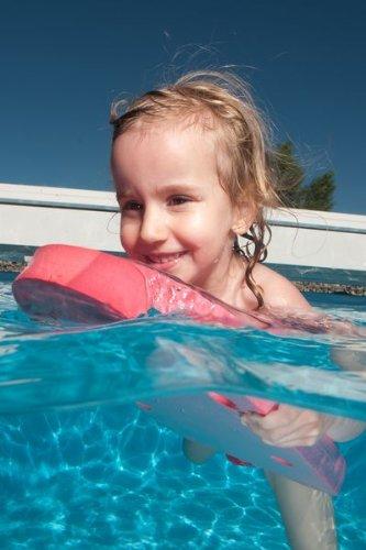 Schwimmbrett Klassik 48x30x38 Baby, Kinder, Erwachsene BLAU