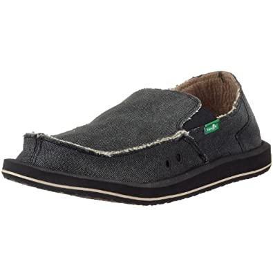 sanuk s vagabond slip on shoe shoes