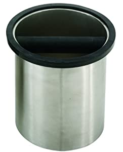 Rattleware Knock Box, Round, 6-1/4 by 7-1/2-Inch by Espresso Supply, Inc