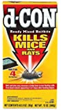 D-Con Ready Mix Bait Bits For Mice Brodifacoum Mice - 3.0 oz. - 4ct