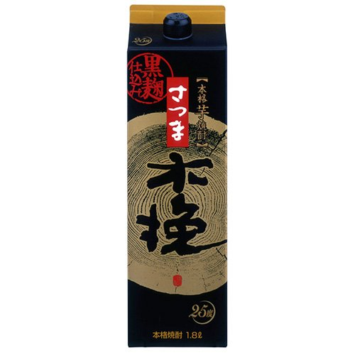 雲海酒造 さつま木挽黒麹仕込み 25度 パック 1.8L×2本