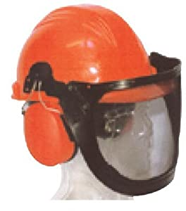 Chainsaw Safety Helmet and Face Guard W/ Muffs