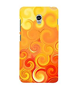 printtech Abstract Design Back Case Cover for Lenovo Vibe P1