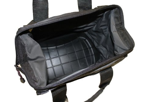 Flw outdoors heavy duty fishing tackle bag soft box w for Amazon fishing gear