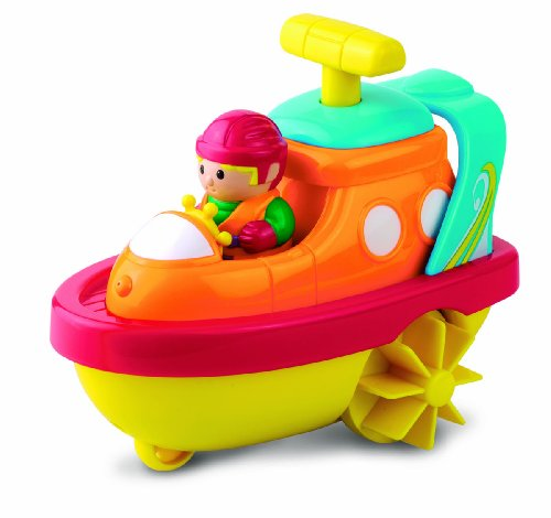 Happy Kid Toy Group 3-in-1 Bathtub Transport Speed Boat - 1