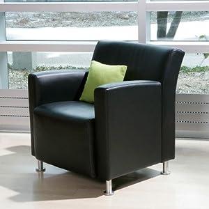 Steelcase TS31407L-X Jenny Lounge Leather Lounge Chair Leather Color: Steelcase Leather - Vineyard, Leg Type: Brushed Aluminum