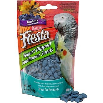 Cheap Kaytee Fiesta Blueberry Flavored Yogurt Dipped Sunflower Seeds Bird Treat (B0018CLXFU)