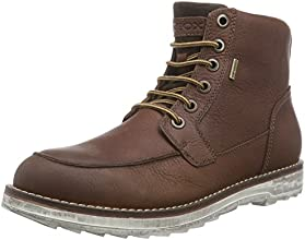 Geox U Shoovy Wp C, Stivaletti, Uomo, Marrone (Brown/Chestnut), 44