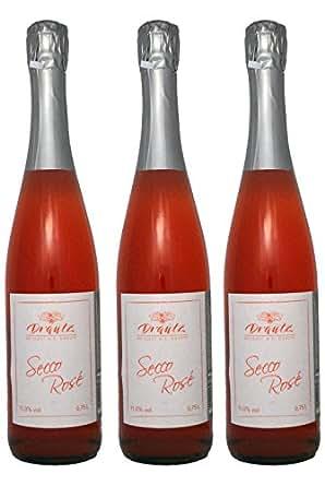 Probierpaket Rosé Secco - 3 Flaschen Rosé Schaumwein - direkt vom Weingut H.C. Drautz in Heilbronn