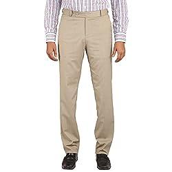 Flags Men's Formal Trouser PV Stretch Khaki Colour Size 42