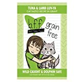 Best Feline Friend Tuna & Lamb Luv Ya Cat Food Pouches (12 pouches)