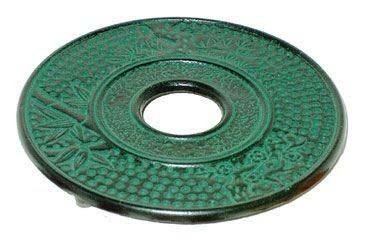 Purchase Japanese cast iron trivet Bamboo Green