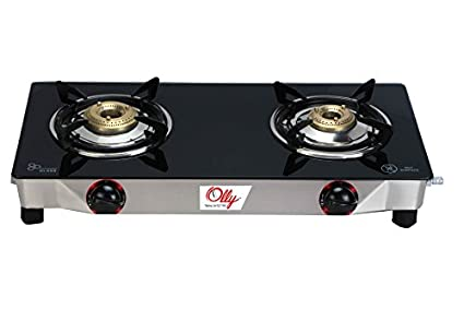 Olly Mini Glass Gas Cooktop (2 Burner)