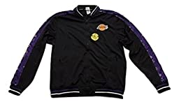 Zipway Mens NBA LA Lakers Signature Basics Jacket 035J08LL,Black,L