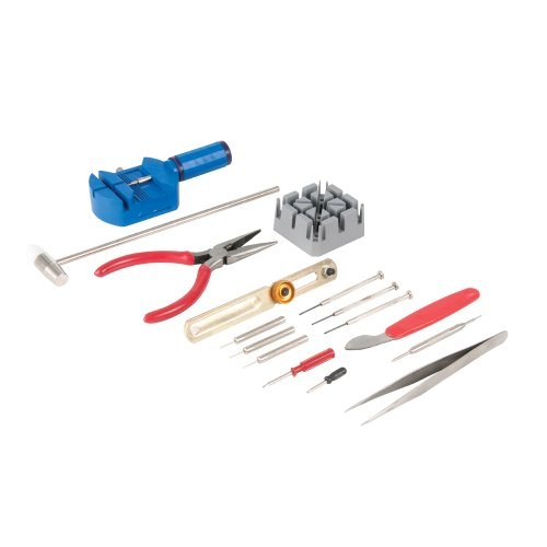 Silverline 870757 Watch Repair Tool Kit (16 Pieces)