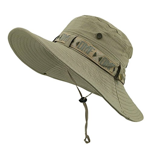 Lethmik fishing sun boonie hat summer uv protection safari for High hat fish