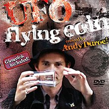 Magic UFO Flying Coin Trick - DVD Kit