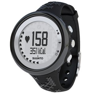 Cheap Suunto M5 Heart Rate Monitor Watch – Women – Black/Silver – Clamshell package SS015307000 (SS015307000)