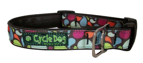 Cycle Dog Bottle Opener Recycled Dog Collar, Brown, Base Lava Lamp, Medium