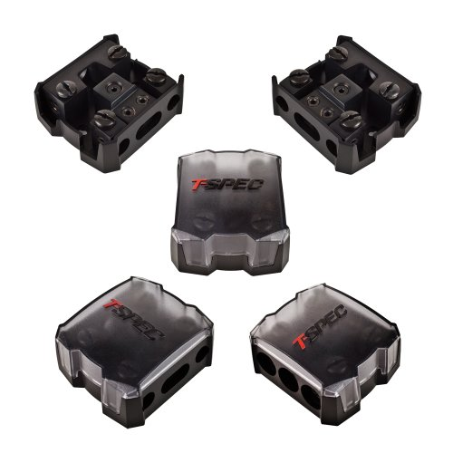 T-Spec V12Db-14Pn Manl Power And Ground 2 Position Distribution Block