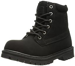 Fila Edgewate 12 Hiking Shoe (Little Kid/Big Kid), Black, 1.5 M US Little Kid