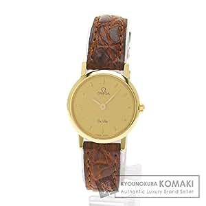 OMEGA(オメガ) デ・ビル 腕時計 K18イエローゴールド/アリゲーター レディース (中古)