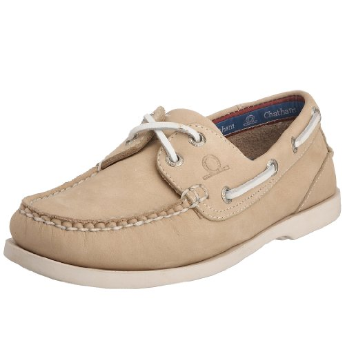 Chatham Marine Women's Pacific Lady G2 Boat Shoe Light Stone D688-050 5 UK