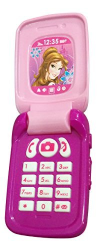 Disney Princess Toy Phone : Disney princess mini pretend musical flip phone cell