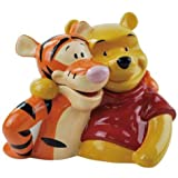 Westland Giftware Tiger and Pooh Ceramic Cookie Jar, 9.5-Inch