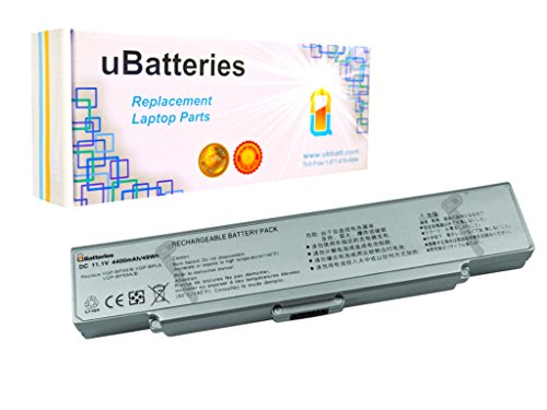 Click to buy UBatteries Laptop Battery Sony VAIO VGN-CR131E/BC - 6 Cell, 4400mah (Silver) - From only $19.22