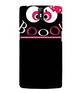 Booo Design Cute Fashion 3D Hard Polycarbonate Designer Back Case Cover for OnePlus One :: One Plus 1 :: 1+1