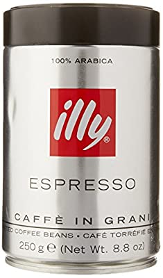 Illy Espresso Whole Bean Dark Roast 250g (2-pack)
